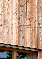 Board and batten cladding - direct fastening
