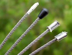 Wire rope ends