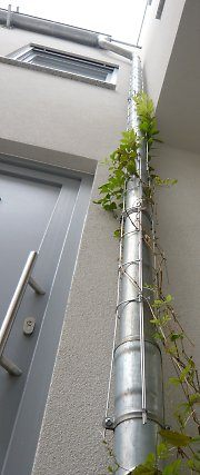 Drainpipe with growing grid - Drainpipegrid