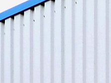 How to install climbing plant growth aids on sheet metal facades