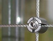 Stainless steel wire cross clamp