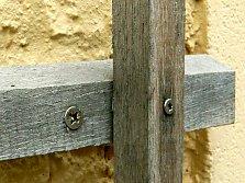 Wood trellises