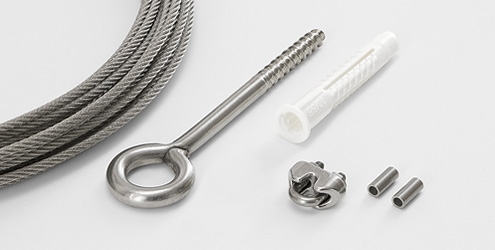 Wire Rope System 2040 - Easy Kit