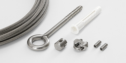 Wire Rope System 2060 - Easy Kit