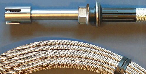 Wire Rope System 7050 - Massive Kit