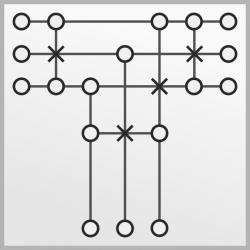 Système de câbles 3060 - Version moy.
