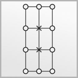Système de câbles 4030 - Version moy.