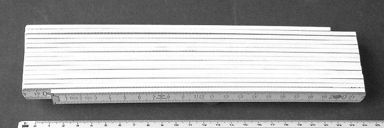 Profi - Drei -Meter-Zollstock (3 !!! m)