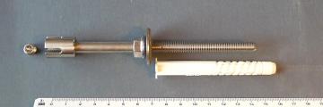 Wire Rope Trellis Fitting M8 'Premium' w/ Rawlplug