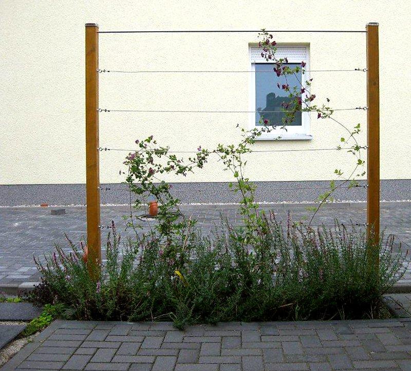zaunbegr nung m kletterpflanzen auswahl kultur und rankhilfen. Black Bedroom Furniture Sets. Home Design Ideas