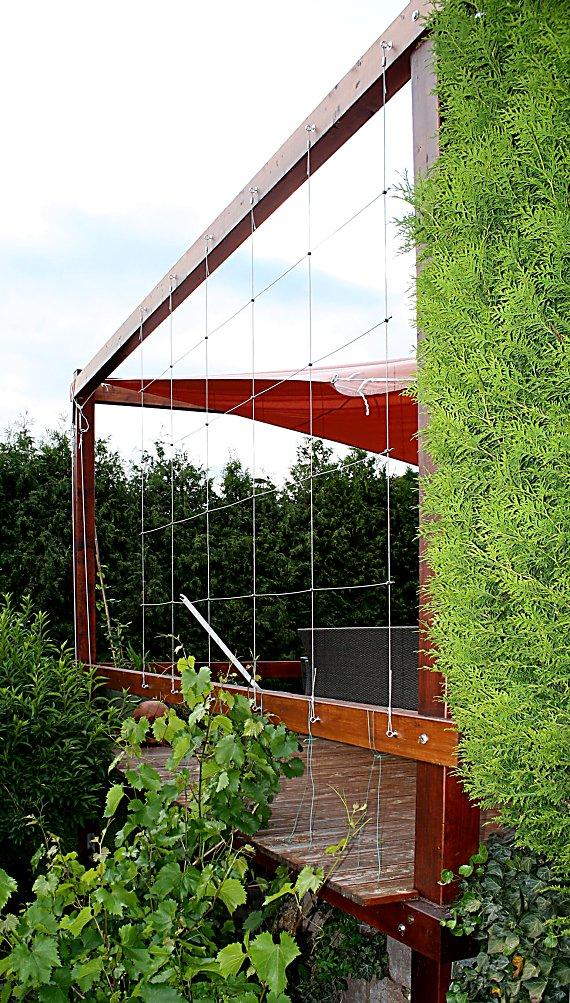 spannseile rankhilfe edelstahl sets in seilspanntechnik. Black Bedroom Furniture Sets. Home Design Ideas