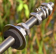Stainless steel anchor screw