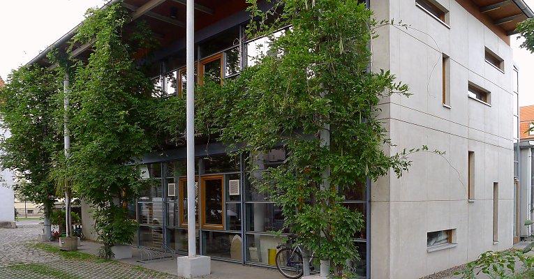 poteaux et colonnes palisser une plante grimpante pour habiller une colonne l aide de c bles. Black Bedroom Furniture Sets. Home Design Ideas